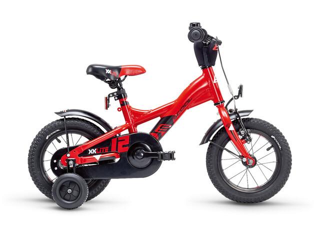 s'cool XXlite 12 alloy Red/Black Matt